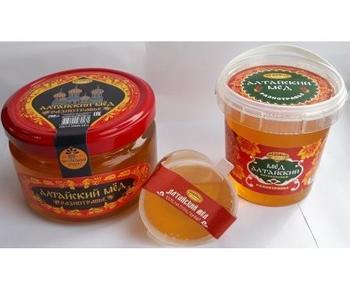 Мёд натуральный цветочный Алтайский