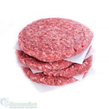 Бифштекс рубленый из говядины 4 шт
