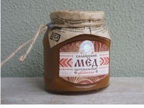 Мёд Салаирский цветочный, 460 гр.