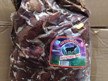Котлетное мясо (оленина)