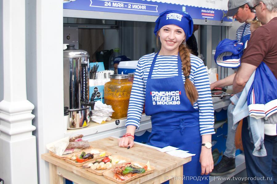 ТВОЙПРОДУКТ: Что мы увидели в последний день рыбной недели в Москве