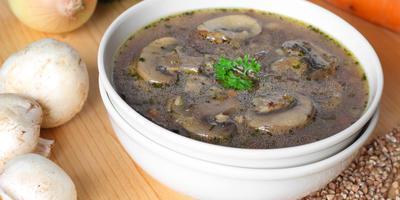 ТВОЙПРОДУКТ: Гречневый суп для белковой трапезы
