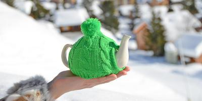 ТВОЙПРОДУКТ: К зеленому чаю – по снегу
