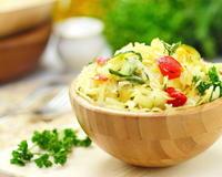 Яркая закуска из капусты