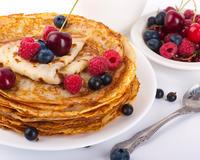 Диетические блинчики: снижаем калорийность