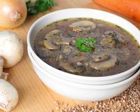 Гречневый суп для белковой трапезы