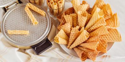 ТВОЙПРОДУКТ: Сотовый десерт из вафельницы